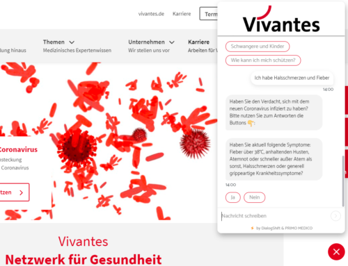 Chatbots: Startup DialogShift relieves Corona Hotline of the Vivantes Clinic